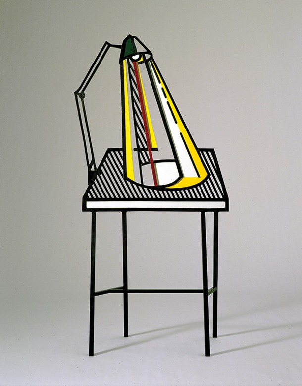 """LAMP ON TABLE,"" ROY LICHTENSTEIN"