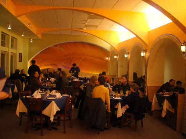 Dining at Gaby's Rhinebeck