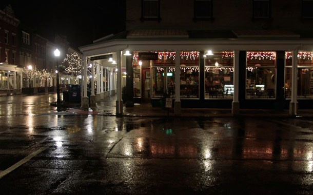 Dominick's Cafe on the corner of Wall and N. Front Streets in Uptown Kingston - ERIC FRANCIS COPPOLINO