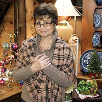 New Paltz, Highland, Milton, Marlboro Doris Nessel at Antique Barn at the Water Street Market. David Morris Cunningham