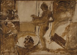 Edgar Degas, Nude Woman Drying Herself, 1884–86