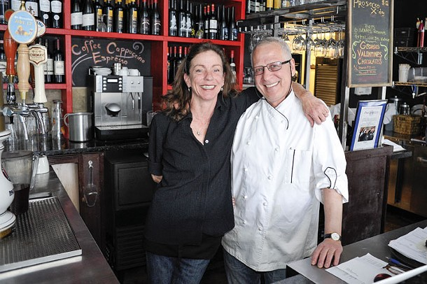 Eileen and Georges Zidi at dish Mahopac Bistro and Wine Bar - DAVID MORRIS CUNNINGHAM