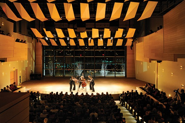 Ensemble ACJW at the Arthur Zankel Music Center at Skidmore College. - STEFAN COHEN