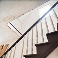 Matt Kinney's Mansion Makeover Entry staircase Deborah DeGraffenreid