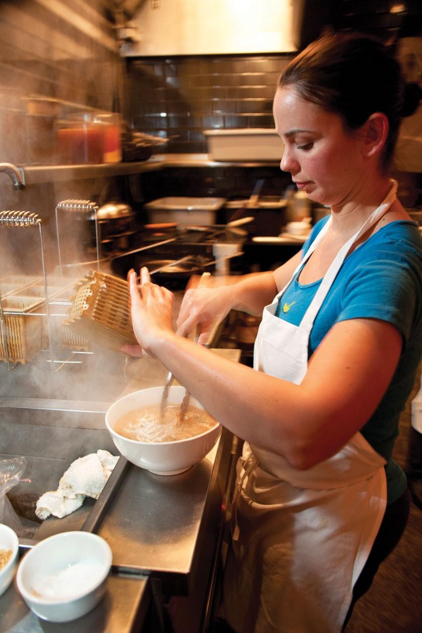 Erika Malkuch of Yum Yum Noodle Bar. - ROY GUMPEL