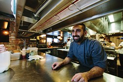 Executive Chef Dan Crocco in the kitchen - THOMAS SMITH