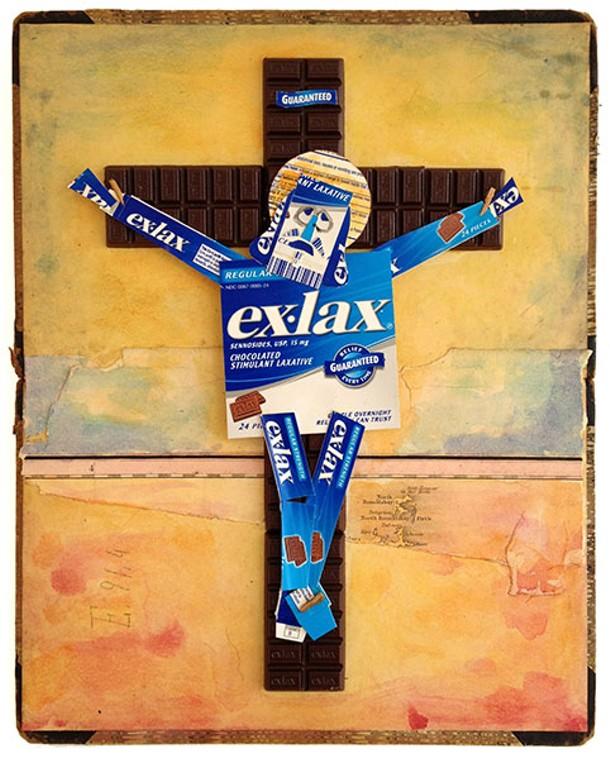 ExLax-Jesus by David Goldin