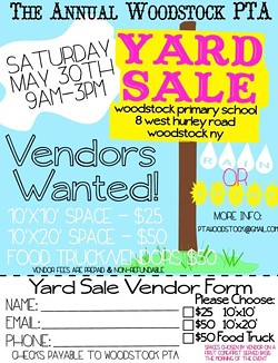 Find your one-of-a-kind find at the PTA Yard Sale!
