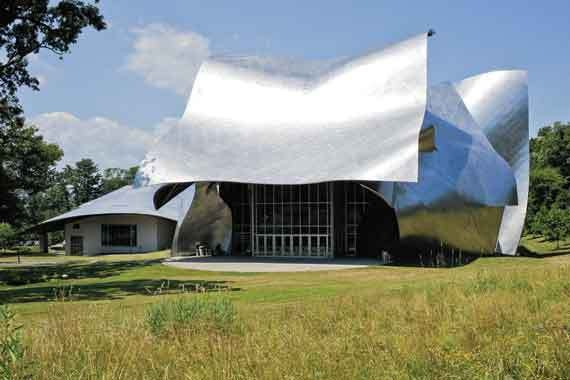 Fisher Performing Arts Center, Bard College. - DAVID CUNNINGHAM