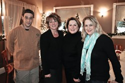Fred Kormann, Lisa Bozudaj, Debra Dooley and Claire Winslow - DAVID MORRIS CUNNINGHAM