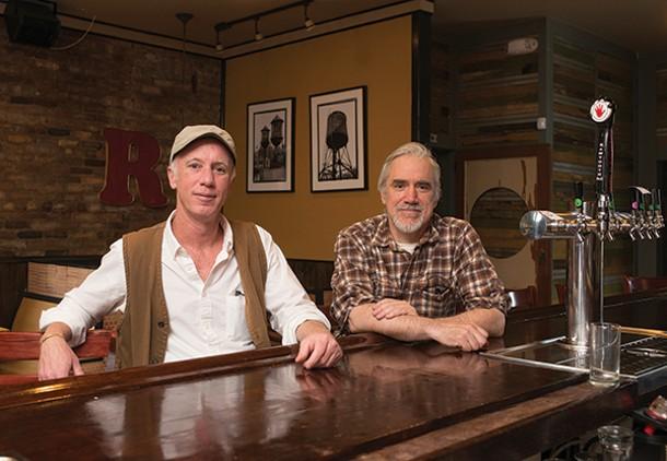 George Mansfield and Tom Schmitz