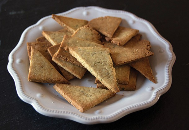 Gluten-free crackers adapted from The Sprouted Kitchen. - PETER BARRETT