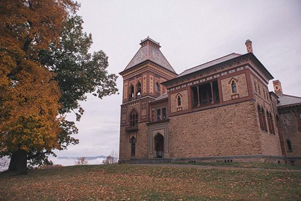 Greenport's 250-acre Olana estate of Hudson River School painter Frederic Church. - THOMAS SMITH