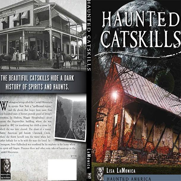 Haunted Catskills book cover.