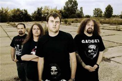 Heavy-metal band Napalm Death.