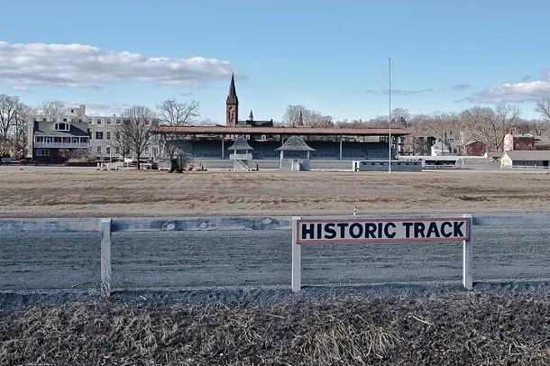 Historic Harness Racing Track in Goshen. - DAVID MORRIS CUNNINGHAM