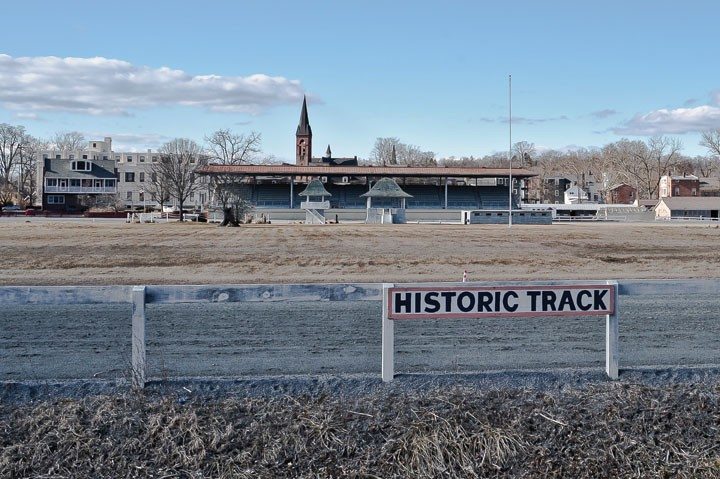 Historic Harness Racing Track in Goshen. - DAVID MORRIS CUNNINGHAM