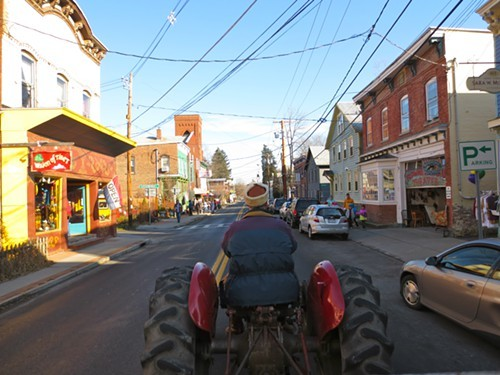 Holiday Hayride in Rosendale