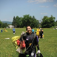 New Paltz and Gardiner Hollie Reno, skydiver at Skydive the Ranch in Gardiner. Kelly Merchant