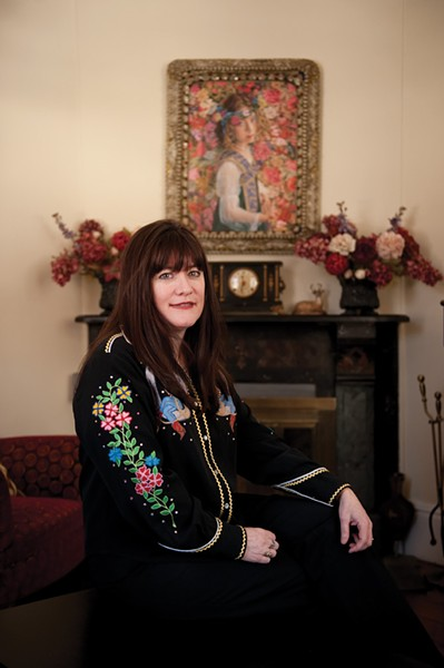Holly George-Warren Warren photographed at the Phoenicia Belle Bed & Breakfast. - JENNIFER MAY
