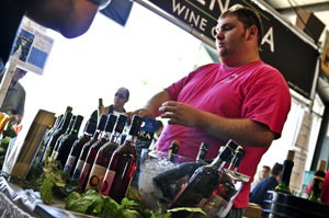 Hudson Valley Wine and Food Festival.