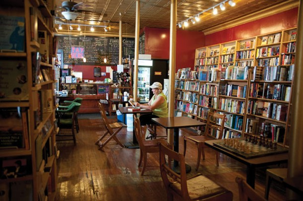Inquiring Minds Bookstore and Cafe.