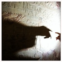 Egypt's Pyramids and Temples Inside a tomb with exquisite reliefs. Jason Stern