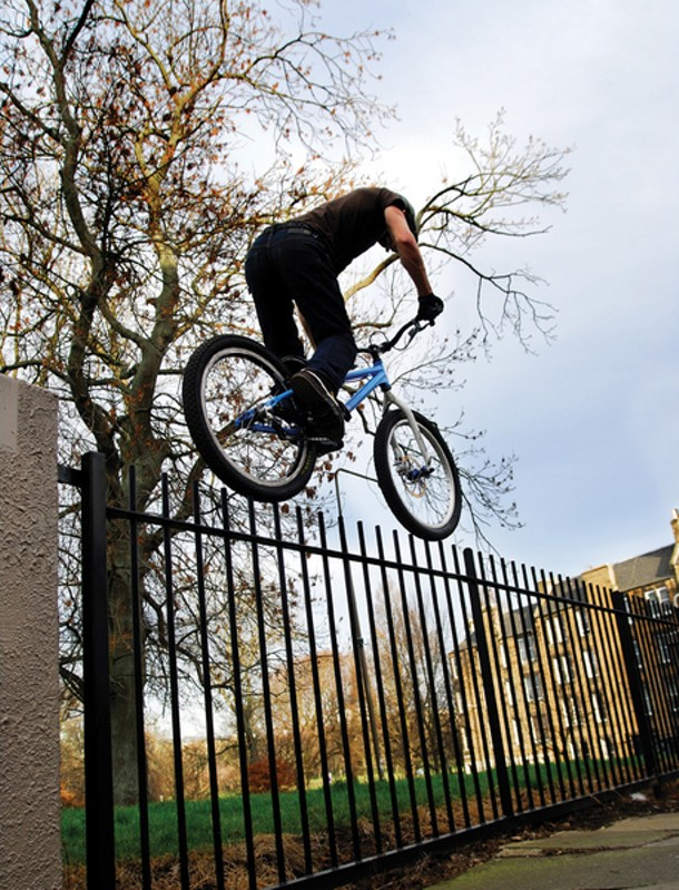 Inspired Bicycles, Danny MacAskill - David Sowerby, video still, 2008-09