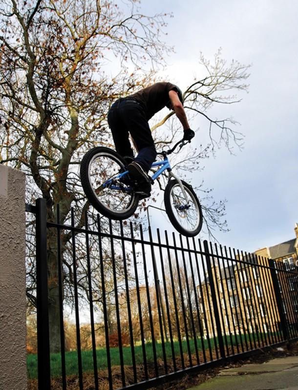Inspired Bicycles, Danny MacAskill - David Sowerby, video still, 2008-09
