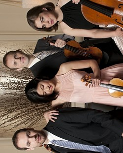 CARAMOOR PHOTO - Jasper String Quartet