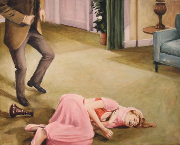 """Jeannie Laughing, Suzanne Bennett, oil on canvas, 20"""" X 16"""", 2013"""