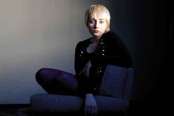 Jessica Lea Mayfield performs at the Belleayre Music Festival on August 27.