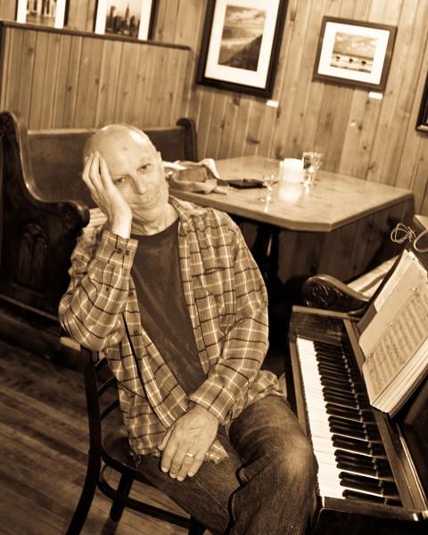 John Simon at Aroma Thyme Bistro in Ellenville.