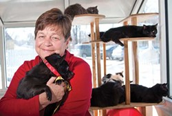 Joyce Garrity, executive director of the Dutchess County SPCA.