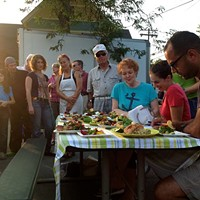 Recap of the Chef Challenge at the Woodstock Farm Festival