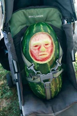 Ken Landauer's Baby, from the Edible Sculpture Party, Tivoli, July 23. Photo courtesy Tim Davis.