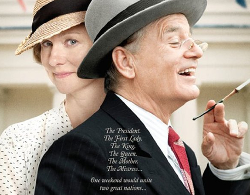 Laura Linney and Bill Murray star in Hyde Park on Hudson