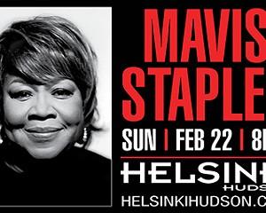 Living Legend Mavis Staples to Bring Soul-Gospel to Helsinki Hudson