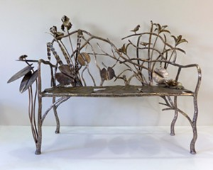 Local Ironwork Auctioned at Olana Gala