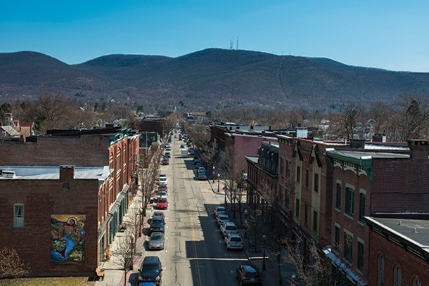 Looking east along Main Street in Beacon - ROB PENNER