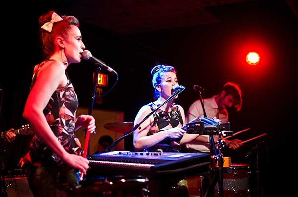 Lucius performed with Shana Falana and Ava Luna at BSP Lounge in Kingston on February 21.