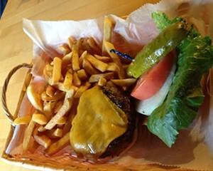 Mabel Burger at J Rocco's Steakhouse