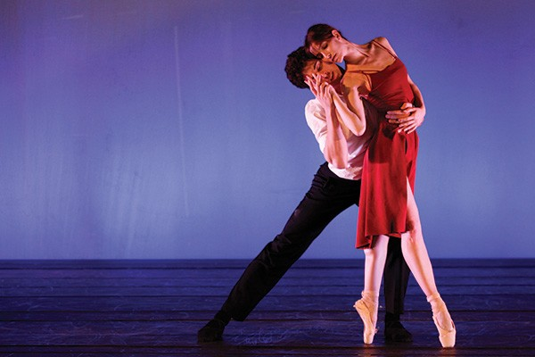 Marcelo Gomes Choreography at the Hudson Valley Dance Fest in Catskill on October 12. - EMILY WATSON