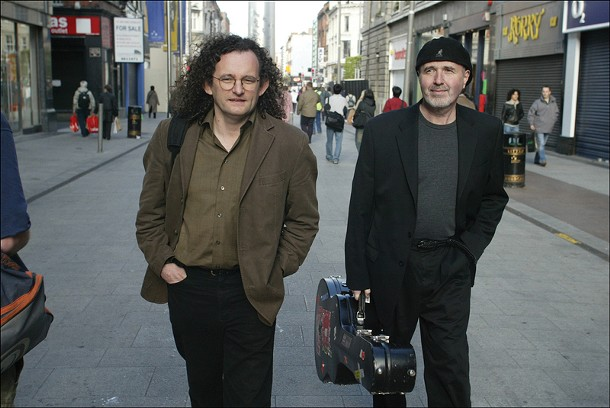 Martin Hayes and Dennis Cahill - perform at St. Paul's Lutheran church on November 14.