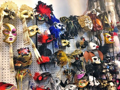 Masks at Columbia Costumes