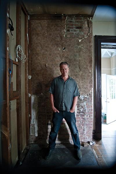 Matt Kinney in the dining room.