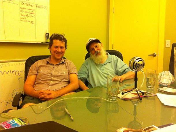 Matthew Pokoik (left) and Sparrow (right).