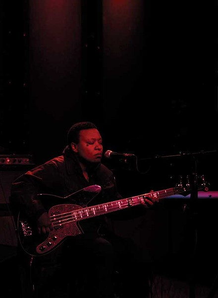 Meshell Ndegeocello performing at Helsinki Hudson in March.