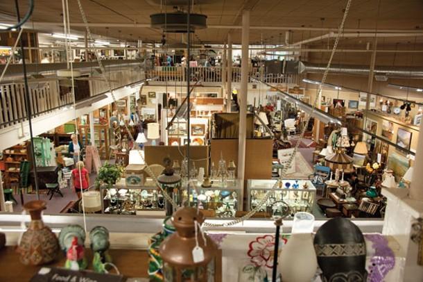 Millerton Antiques Center.
