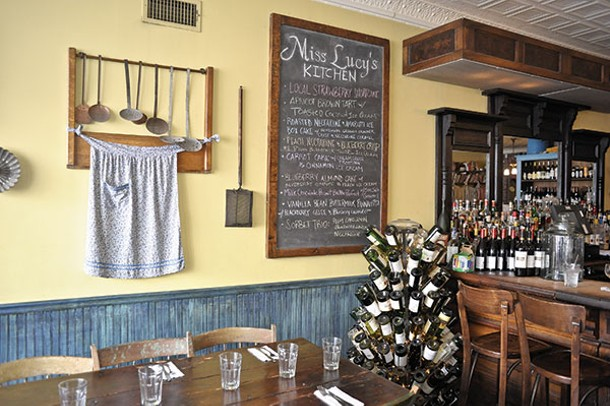 Miss Lucy's Kitchen in Saugerties.